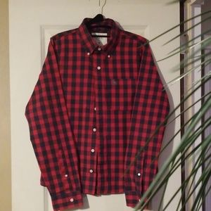 Abercrombie & Fitch long sleeve button down shirt.